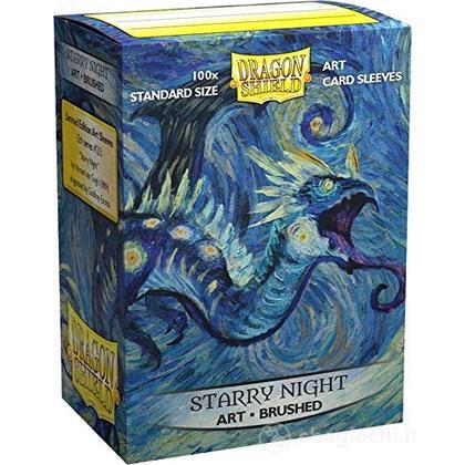 100 Bustine Brushed Standard Art Starry Night