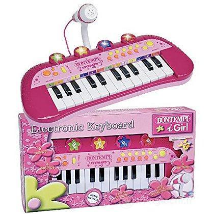 Tastiera Elettronica 24 tasti rosa ( 12 2971)