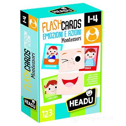 Flashcards Montessori - Emozioni e Azioni (IT20577)