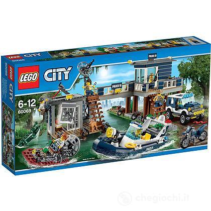 La caserma della Polizia nelle paludi - Lego City (60069)