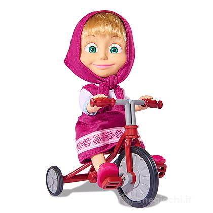 Masha con triciclo originale