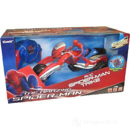 Spider-Man Moto Radiocomandata Full Function