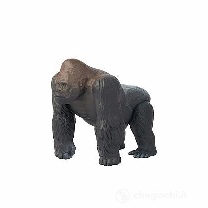 Gorilla. Animale in plastica con parti snodabili (LCT16060)