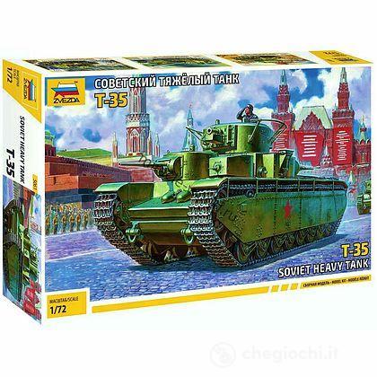 Carro armato Sovietico T - 35 1:72 (ZS5061)