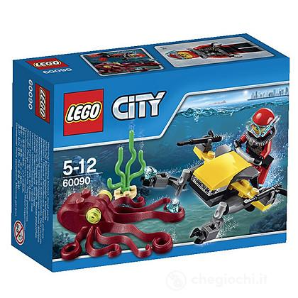 Scooter per immersioni subacquee - Lego City Deep Sea Explorers (60090)