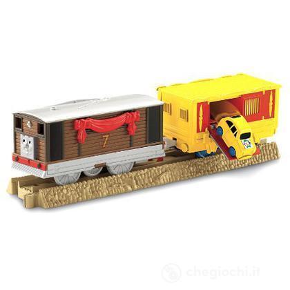 Toby e il Vagone del Circo - Veicoli Carico a Sorpresa Trackmaster (V7633)