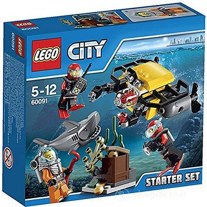 Starter Set Esplorazione subacquea - Lego City Deep Sea Explorers (60091)