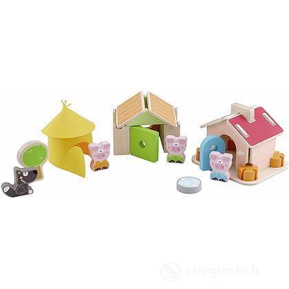 Set Costruzioni I tre Porcellini 36 pezzi (83062)