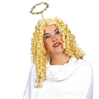 Parrucca bionda angelo