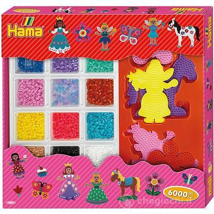 Hama - Giant Open Gift Box set principessa
