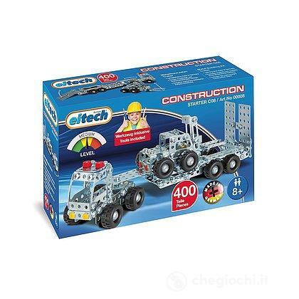 Camion con rimorchio e carrello elevatore (ET100008)