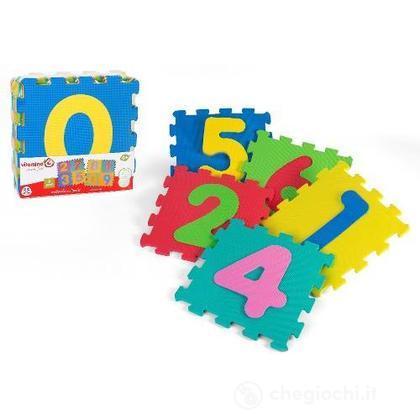 Tappetino puzzle numeri 9pz 05063