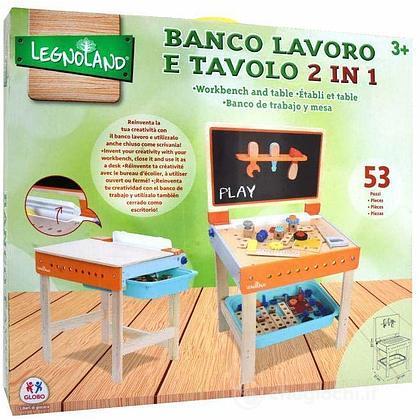 Banco Lavoro e Tavolo in Legno (39064)