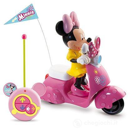 Minnie scooter RC con personaggio