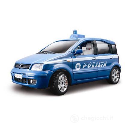 Nuova Fiat Panda della polizia 1:24