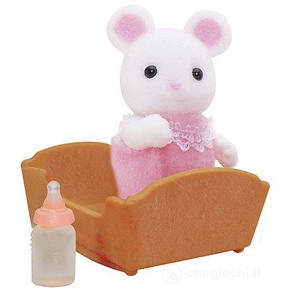 Bebè topolino bianco (5069)