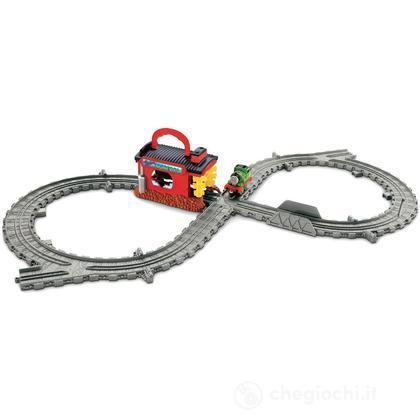 Playset Deluxe - Lavaggio locomotiva di Sodor (V7642)