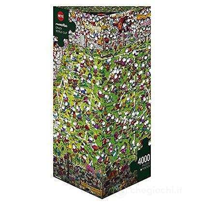 Puzzle 4000 Pezzi Triangolare - Coppa del Mondo