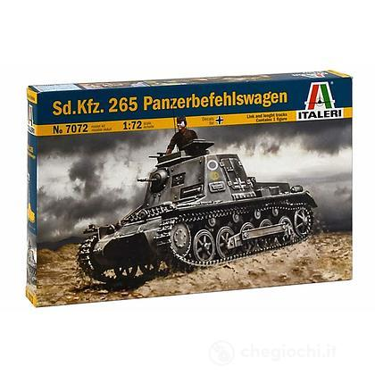 Carro armato Sd. Kfz. 265 Panzerbefehlswagen 1/72 (IT7072)