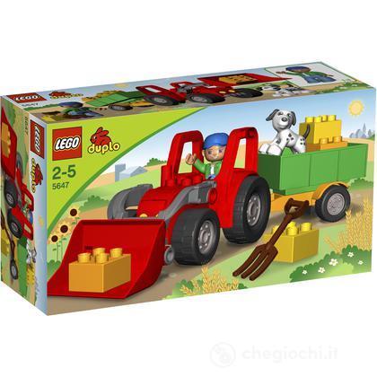 LEGO Duplo - Trattore e rimorchio (5647)