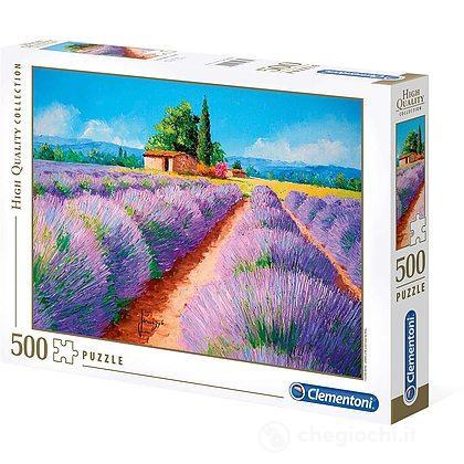 High Quality Collection Puzzle - Profumo di lavanda - 500 Pezzi (35073)