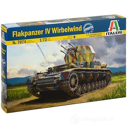 Carro armato Flakpanzer Iv Wirbelwind 1/72 (IT7074)
