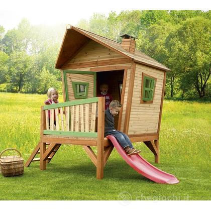 Casetta in legno playhouse iris casette axi for Casetta chicco villa
