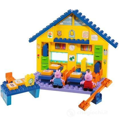 Peppa Pig Costruzioni Scuola
