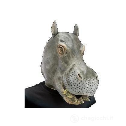 Maschera ippopotamo
