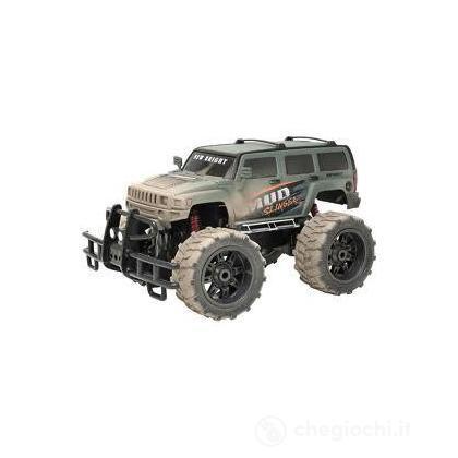Veicolo radiocomandato Mud Slinger Jeep 1:10