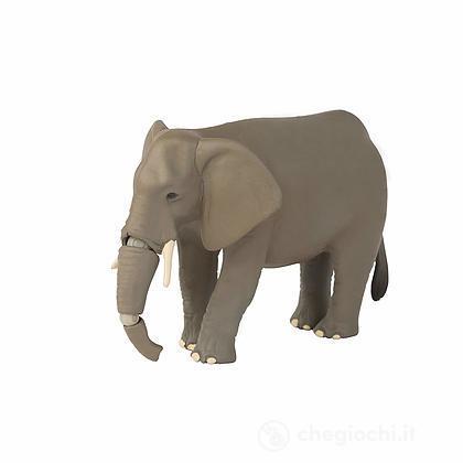 Elefante. Animale in plastica con parti snodabili (LCT16077)
