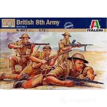 Soldati 8 Armata britannica 2 Guerra Mondiale 1/72 (IT6077)