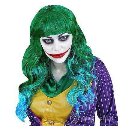 Parrucca Evil Joker da donna