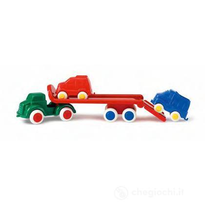 Maxi camion trasporto con 2 veicoli
