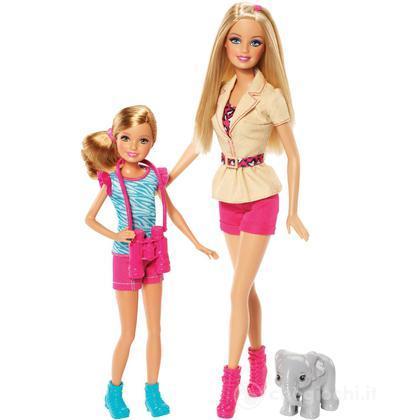 Barbie e Stacie - Barbie e le sue Sorelline al safari (BDG25)