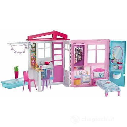 Il loft di Barbie. Casa Portatile. Bambole non incluse (FXG54 )