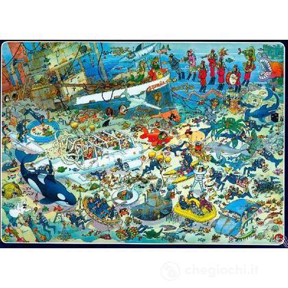 Comic 1000 Pezzi- Divertimento Nel Fondo Del Mare (617079)