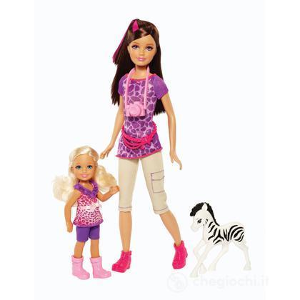 Skipper e Chelsea - Barbie e le sue Sorelline al safari (BDG26)