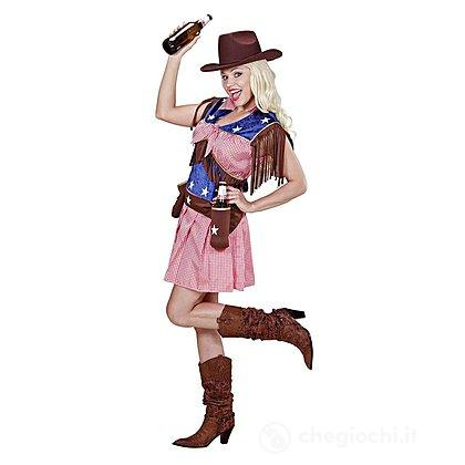 Costume Adulto Rodeo Cow Girl S