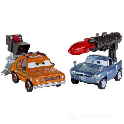 Cars 2 Action Agents Battle pack - Finn McMissile e Grem (V4247)