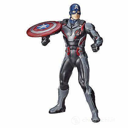 Capitan America lancia scudo Avengers Endgame