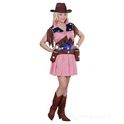 Costume Adulto Rodeo Cow Girl M