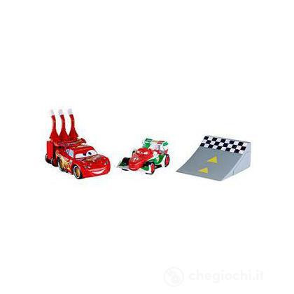 Cars 2 Action Agents Battle pack - Saetta McQueen e Francesco Bernoulli (V4248)