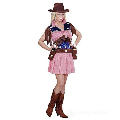 Costume Adulto Rodeo Cow Girl L
