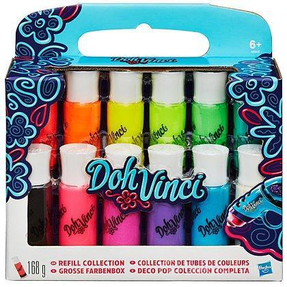 Doh Vinci Refill da 12 Colori