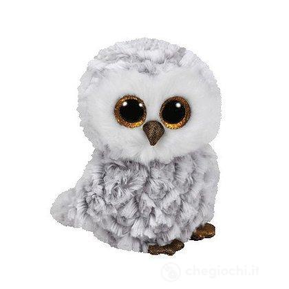 Peluche Owlette Gufo bianco Beanie Boo (37086)