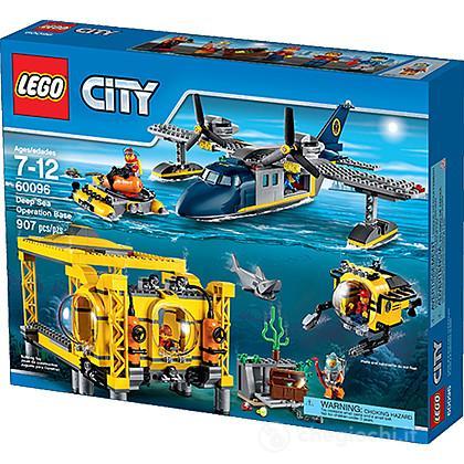 Base sottomarina - Lego Lego City Deep Sea Explorers (60096)