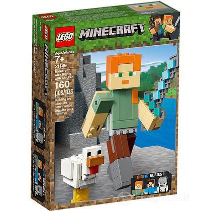 Maxi-figure Minecraft di Alex con gallina - Lego Minecraft (21149)