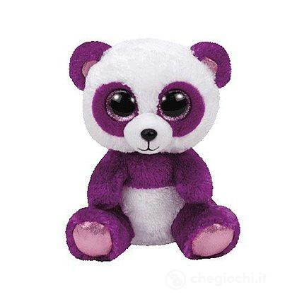 Peluche Boom Boom - Panda Viola/Bianco 24 cm Beanie Boo (37088)