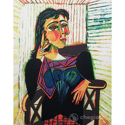 Pablo Picasso: Dora Maar seduta (14088)
